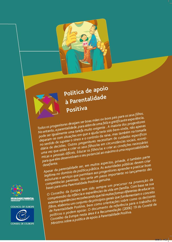 brochura parentalidade positiva
